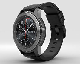 3D model of Samsung Gear S3 Frontier