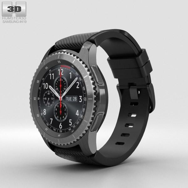 Samsung Gear S3 Frontier 3D model