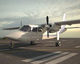 3D model of Britten-Norman BN-2 Islander