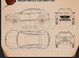 Mercedes-Benz GLA-class concept 2013  Blueprint