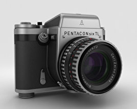 3D model of Pentacon Six TL