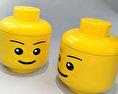 Lego head Free 3D model