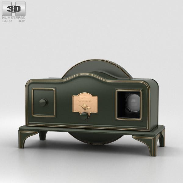 3D model of Baird Televisor