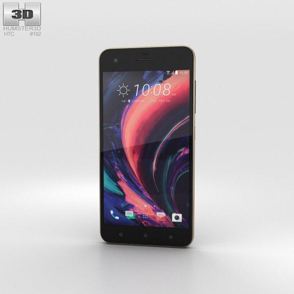 HTC Desire 10 Pro Stone Black 3D model