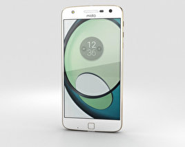 3D model of Motorola Moto Z Play White