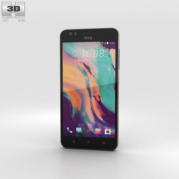 HTC Desire 10 Lifestyle Royal Blue 3D model