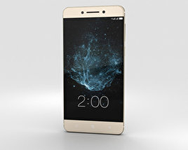 3D model of LeEco Le Pro 3 Gold