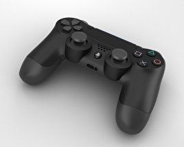 3D model of Sony DualShock 4 Wireless Controller