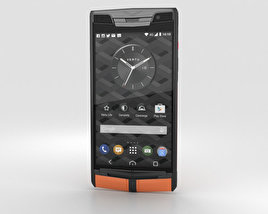 3D model of Vertu Signature Touch (2015) Carbon Sport
