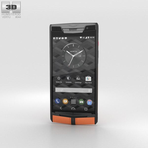 Vertu Signature Touch (2015) Carbon Sport 3D model
