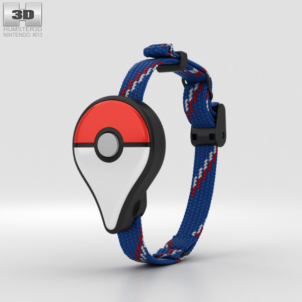 3D model of Nintendo Pokemon Go Plus