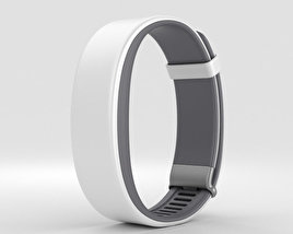 3D model of Sony Smartband 2 White