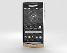 3D model of Vertu Signature Touch (2015) Almond Alligator