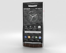 3D model of Vertu Signature Touch (2015) Cocoa Alligator