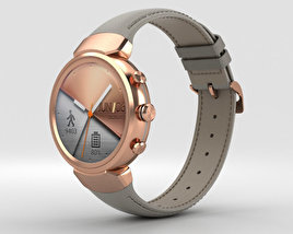 3D model of Asus Zenwatch 3 Rose Gold