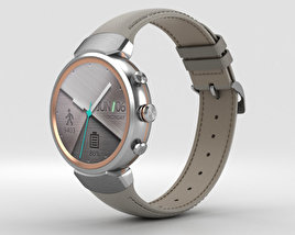 3D model of Asus Zenwatch 3 Silver