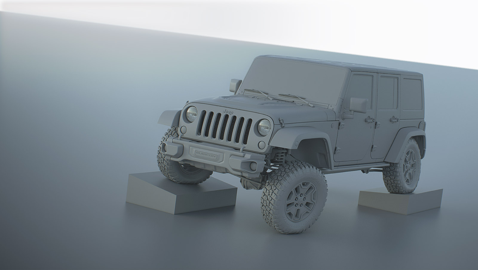 WIP Jeep Rubicon 10th Anniversary