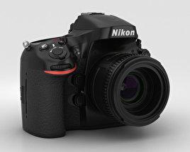 3D model of Nikon D800