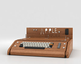 3D model of Apple I Computer