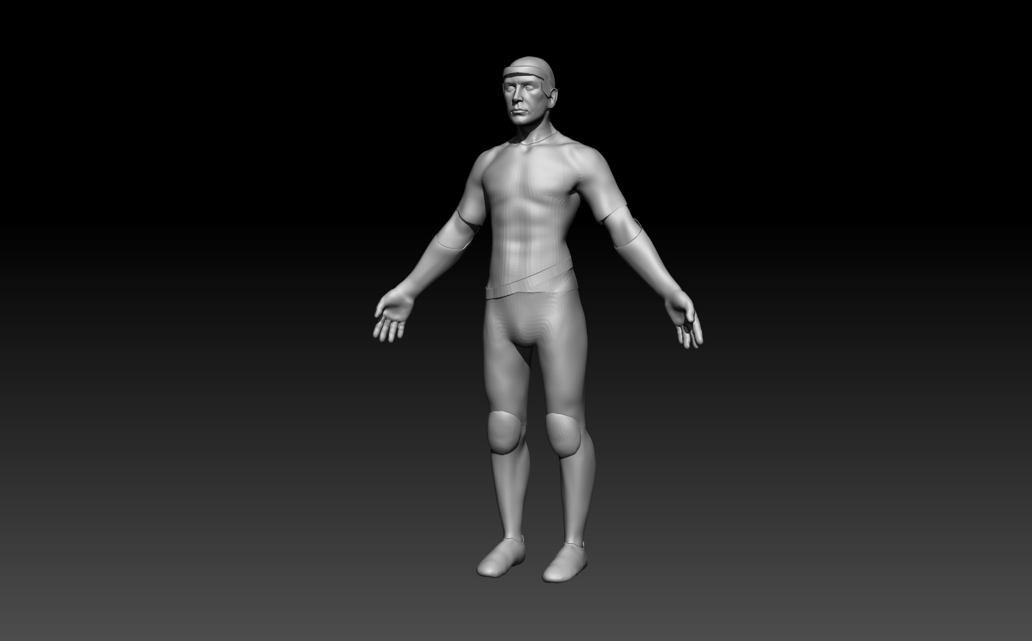 Holographic freerunner WIP