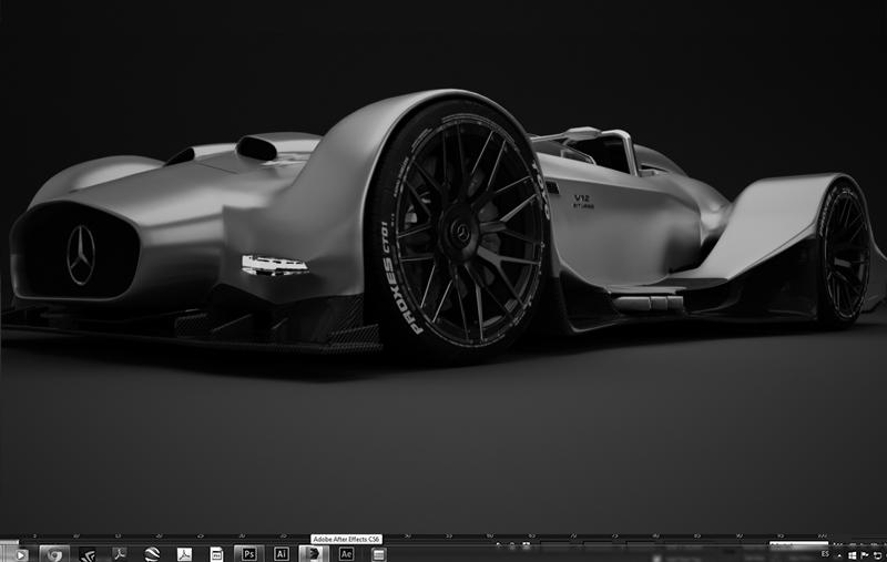 Mercedes Benz V12 concept WIP