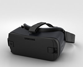 3D model of Samsung Gear VR (2016)