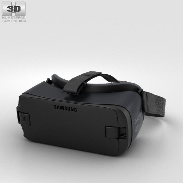 Samsung Gear VR (2016) 3D model