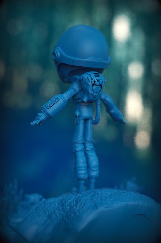 The Space Kid WIP