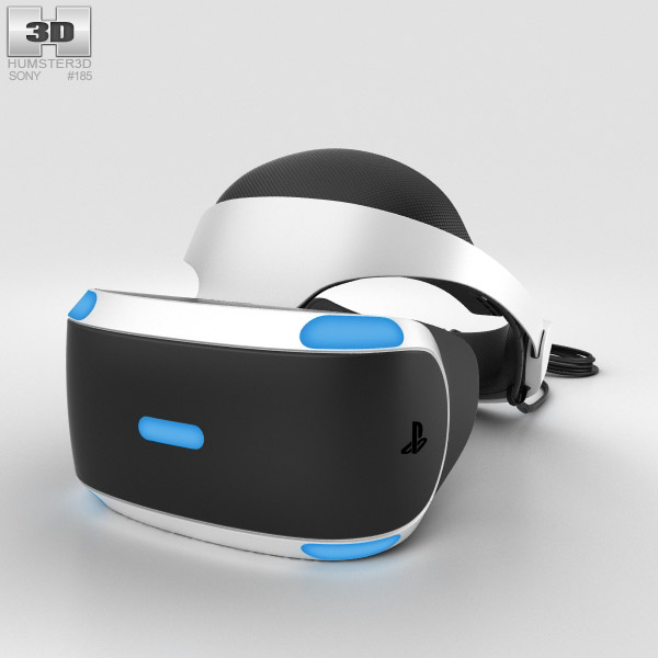 Sony PlayStation VR 3D model