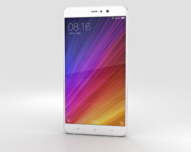 3D model of Xiaomi Mi 5s Plus Rose Gold