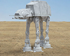 3D model of AT-AT Walker