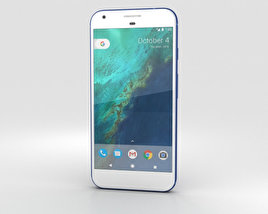 3D model of Google Pixel Really Blue