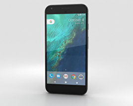 3D model of Google Pixel Very Black
