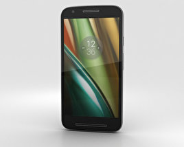 3D model of Motorola Moto E3 Power Black