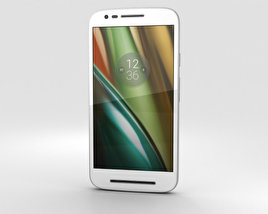 3D model of Motorola Moto E3 Power White