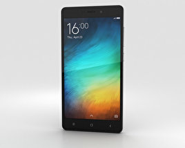 3D model of Xiaomi Redmi 3 Pro Dark Gray