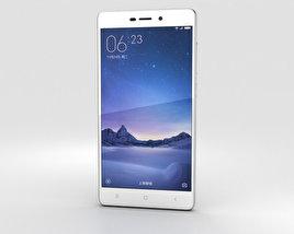 Xiaomi Redmi 3 Pro Silver 3D model