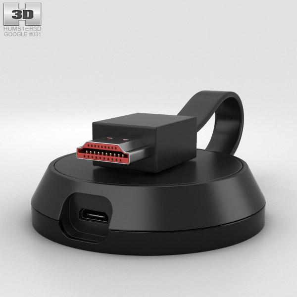 3D model of Google Chromecast Ultra