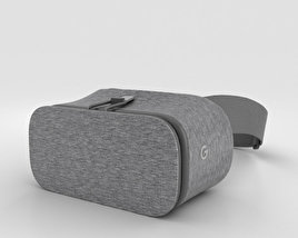 3D model of Google Daydream View Slate