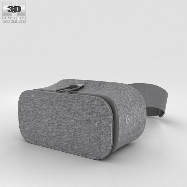 Google Daydream View Slate 3D model