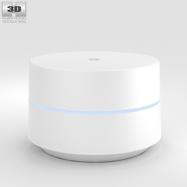 Google Wi-Fi 3D model