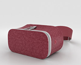 3D model of Google Daydream View Crimson