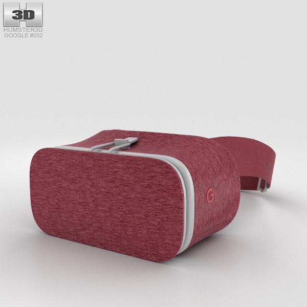 Google Daydream View Crimson 3D model