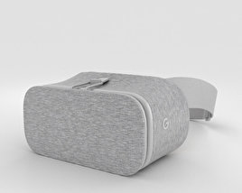 3D model of Google Daydream View Snow