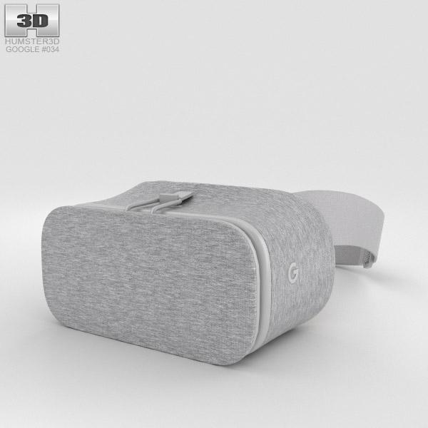 Google Daydream View Snow 3D model
