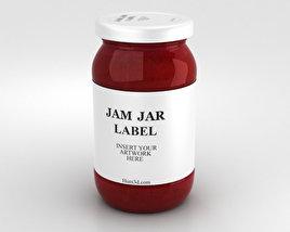 3D model of Jam Jar