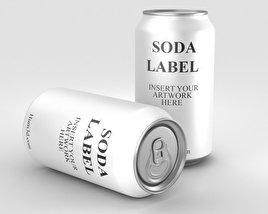 3D model of Soda Can