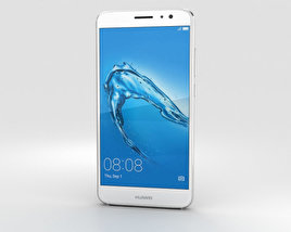 3D model of Huawei Nova Plus Mystic Silver
