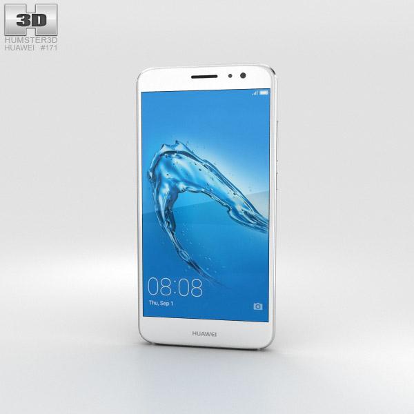 3D model of Huawei Nova Plus Mystic Silver