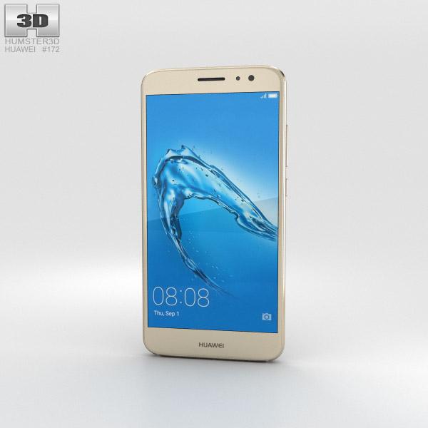 3D model of Huawei Nova Plus Prestige Gold